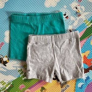 🆕 4/$20 Carter's | bundle of 2 short tights 3T